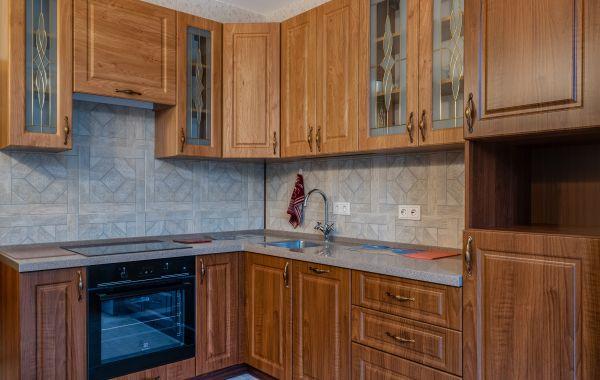 Кухня БА963 Волна Лонгфорд Дуб винчестер-орех