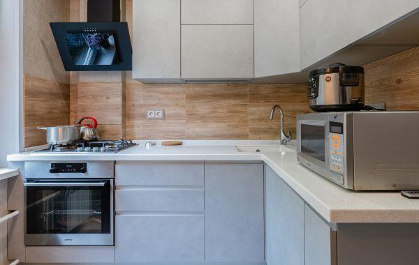 Кухня ПИ950 ПОСТ-Синкрон Муро с кромкой в цвет