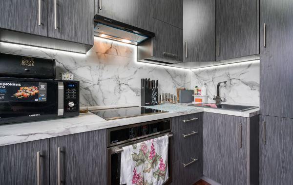 Кухня МШ2127 ПОСТ-5 Пепельное волокно