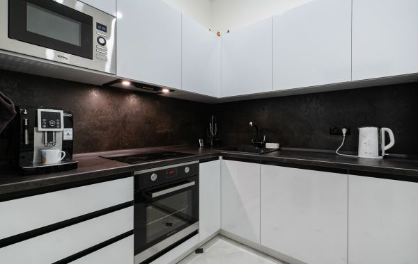 Кухня МШ2171 ПЛТ ПОСТ-5 Белый кристальный глянец