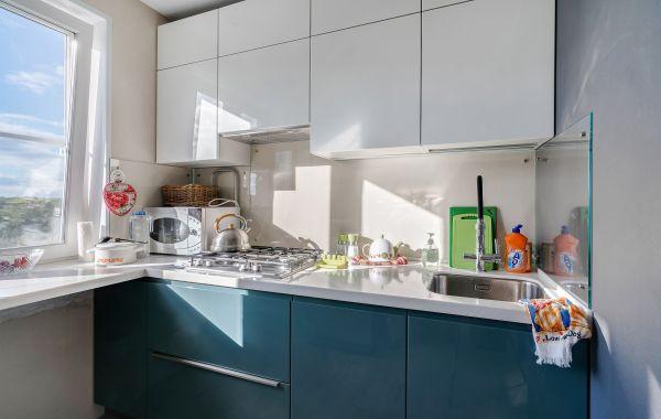 Кухня ПП335 Эмаль NCS Глянец