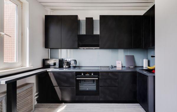 Кухня МШ2101 Система Эко Бетон Черный