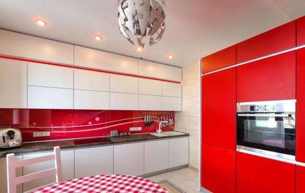 Кухня Арт из крашеного МДФ