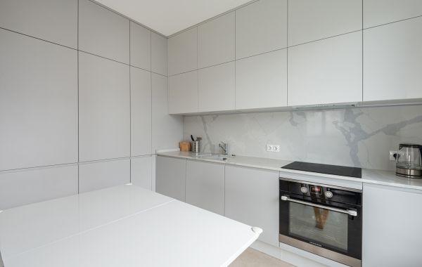 Кухня ПА219 Эмаль глянец Ручки КВ, глянец, мат