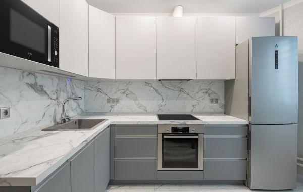 Кухня НК167 Светло-серый NTM/NTM Серый