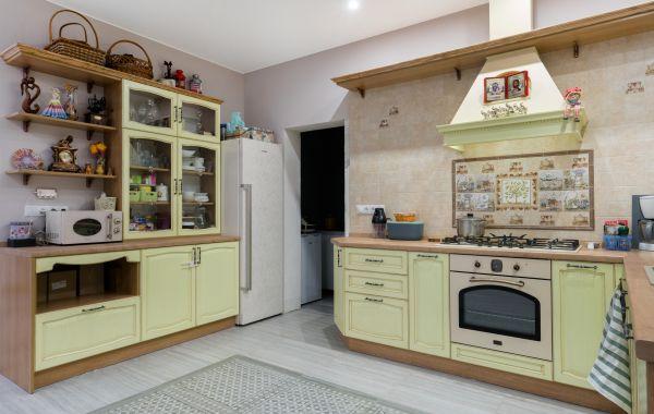 Кухня АМ283 Массив Дуба, Дуб 21 тип 19