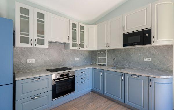 Кухня АМ461 МДФ Фреза - Лонгфорд Покрытие Пластик ПВХ