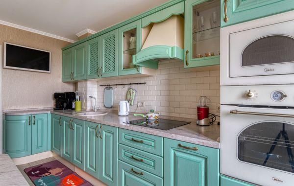 Кухня КА1035 Массив ясеня Т511 цвет 136