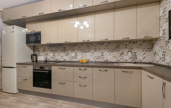 Кухня ОСК799 Пост-5 Латте/Песочный