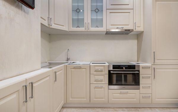 Кухня СУ803 Лонгфорд МДФ ПВХ Кашемир Софт Тач