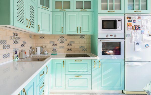 Кухня ЗОВ заказ ПДЛ170 Лонгфорд NCS 1515-B80G