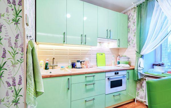 Кухни ЗОВ заказ ВП648 Пост-5 Салат глянец