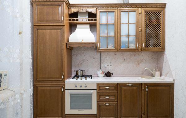 Кухня ЗОВ заказ БШ422 Массив Дуб 3 тип 11