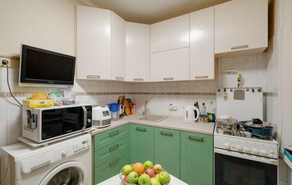 Кухня ЗОВ заказ КА753 ТРЕНТ Папоротник /ПОСТ-5 Белый античный (RIG) верт