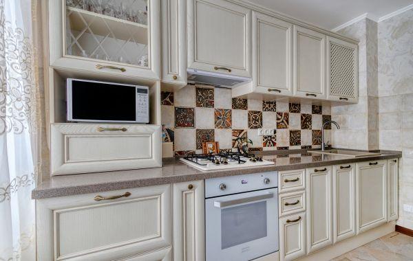 Кухня КА1033 Массив Ясеня Т514 цвет 110
