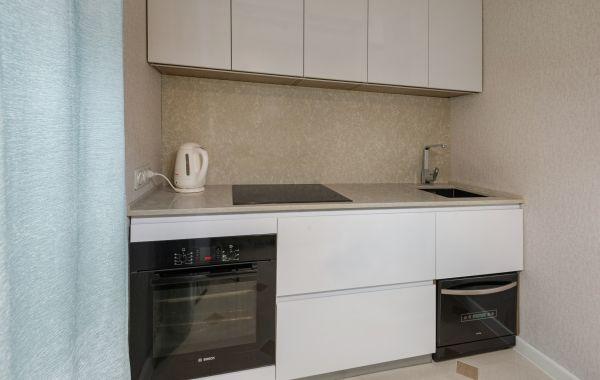 Кухня ИШ6123 Пост 5 снежный GLS
