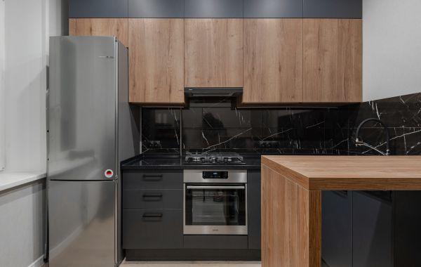 Кухня АМ430 МДФ АКРИЛ / ЛДСП